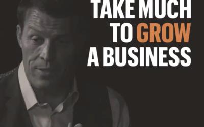 Jak rozbudować biznes? (Tony Robbins) #EnglishUp