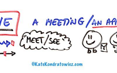 A MEETING czy AN APPOINTMENT? Spotkania po angielsku