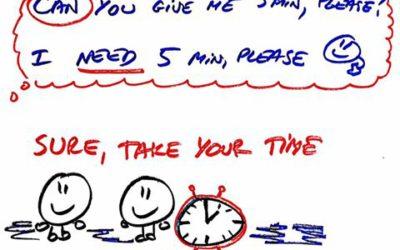 TAKE YOUR TIME po angielsku