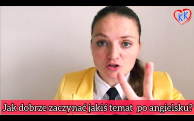 Jak w 3 krokach lepiej rozmawiać po angielsku? #ZapytajKate