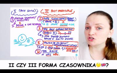 ➡️2 czy 3 forma czasownika😁🇬🇧? Jaką formę czasownika wybrać? #ZapytajKate