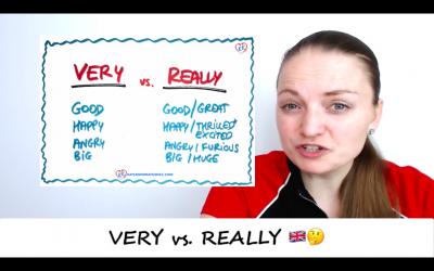 VERY czy REALLY? Jak ich używać z przymiotnikami? #ZapytajKate